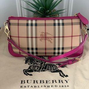 Burberry Haymarket Crossbody